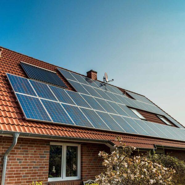 Solar Panels Energy Efficiency Test