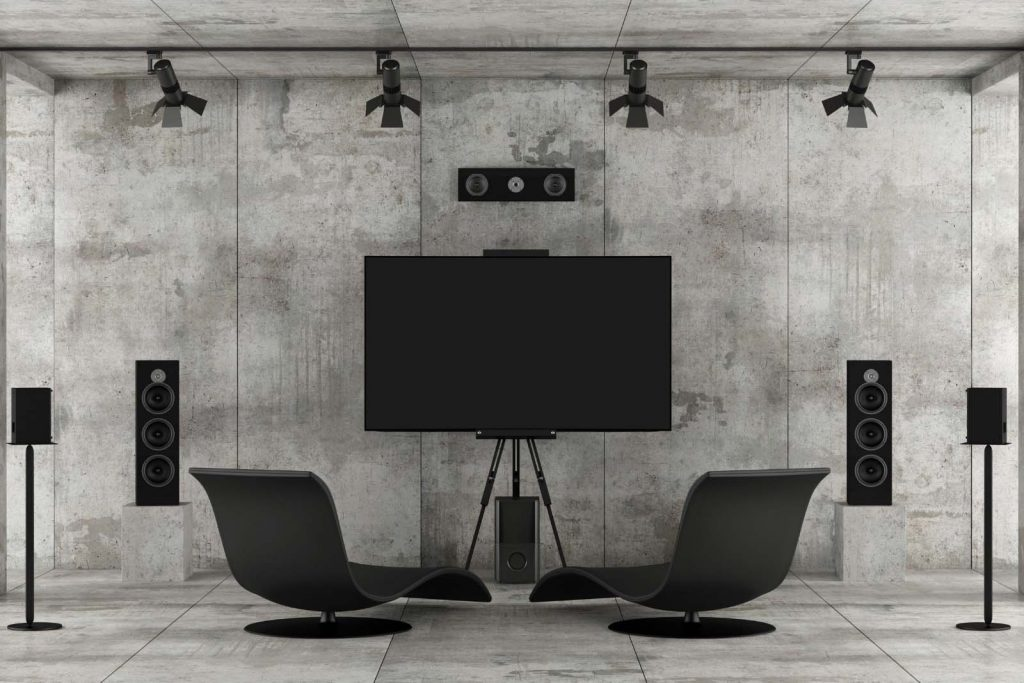 Home Entertainment Device- Home theater