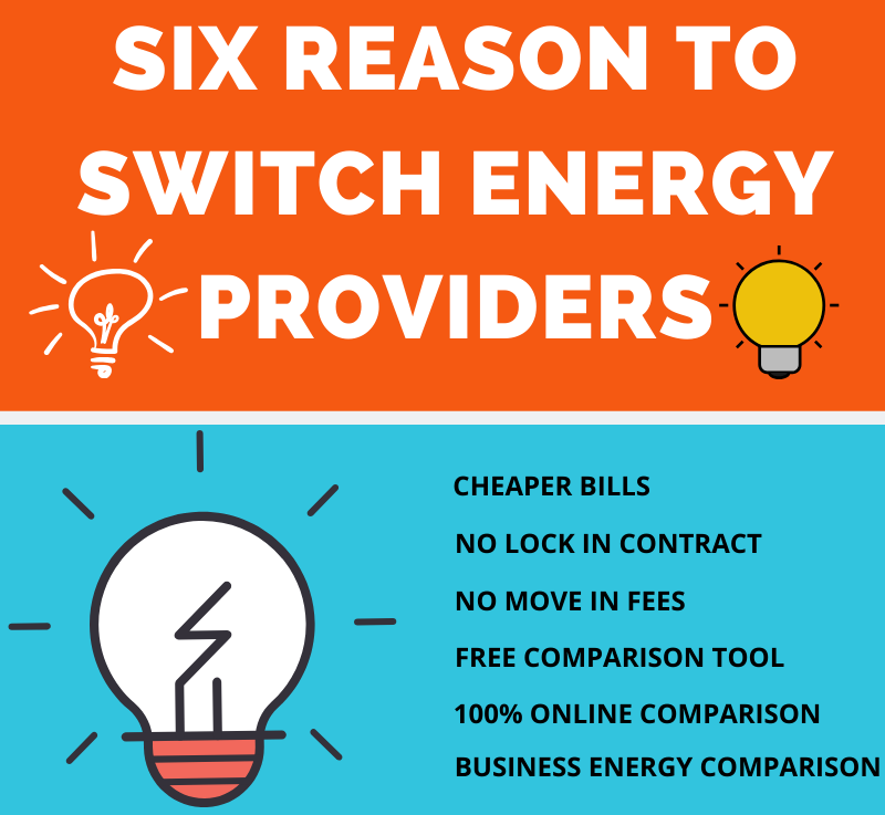 Six Reason to switch energy providers